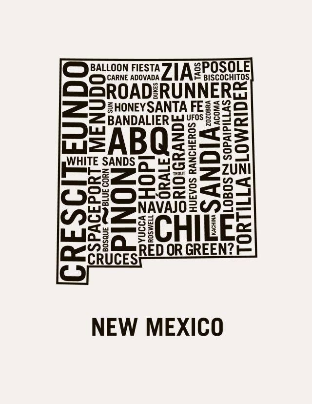 New Mexico adjectives. What we love about the Land of Enchantment!