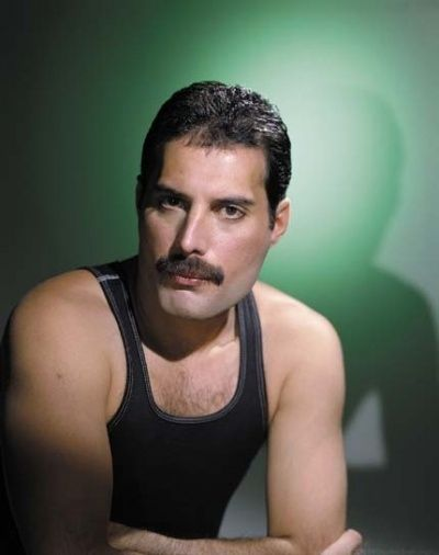 You may know him as Freddie Mercury, but his real name is actually Farrokh Bulsara. Who would've thought?         Celebrity Name Change for Fame #Celebrity #stars