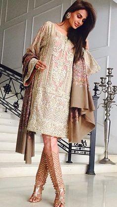 Pakistani designer Faraz Manan- omg I wore this on my aunts Baarat! :-)