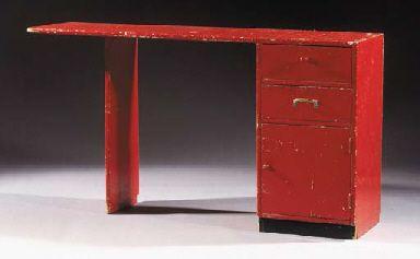Gerrit Rietveld, lady's writing desk , 1935