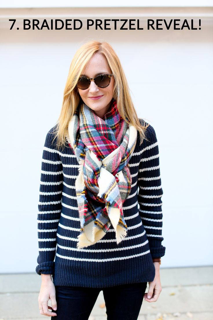 How to tie a blanket scarf-56a