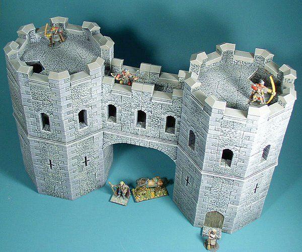 McGhiever's Fantasy Dioramas: Hirst Arts Castles
