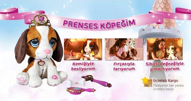 """Evde minik bir dostunuz olsun ister misiniz?         Prenses Köpeğim Toyzz Shop'un raflarında yerini aldı. Prenses Köpeğim kemiğiyle besleniyor, fırçasıyla tarandığında ise çok seviniyor. Kızlar yeni arkadaşları """"Prenses Köpeğim"""" e bayılacak. Artık kızların en sevimli ve en sadık dostu Prenses Köpeğim olacak."""