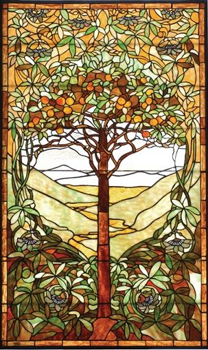 stained glass - Tiffany Co.