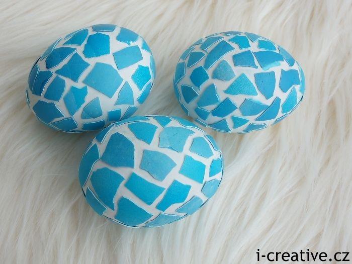 Návod na mozaiková velikonoční vajíčka