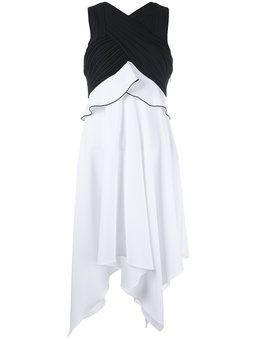 платье с лямками крест-накрест