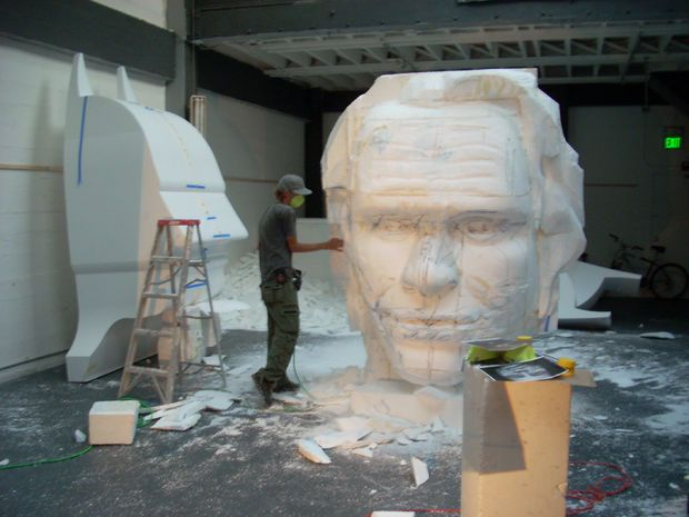 Styrofoam sculptures sculpture and search