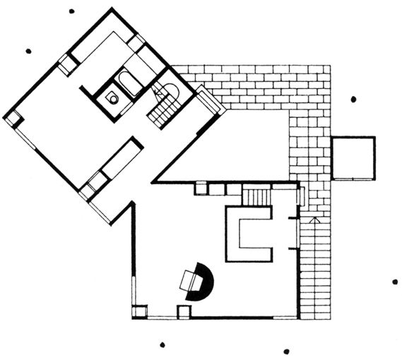 louis kahn: norman fisher house, hatboro (1960)