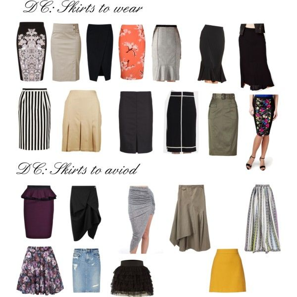 Skirts for DC, created by wichy on Polyvore