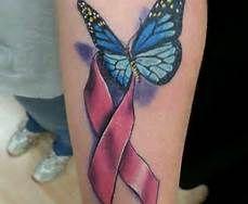 cancer ribbon tattoos - Bing Images