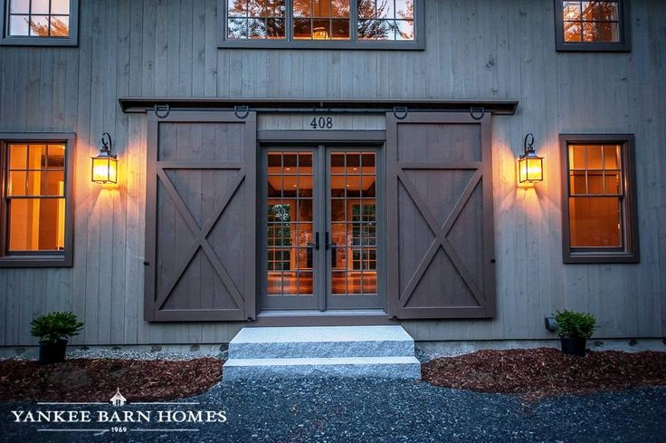 Barn Doors - Would love to have these as my front door
