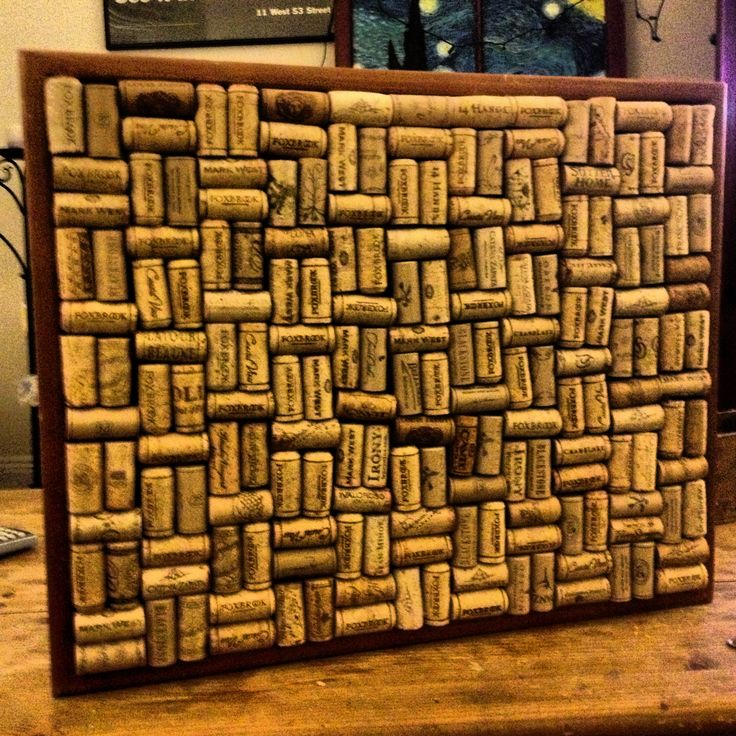 Success! I made this and it turned out cute. I matched the corks by 2.. you may have to cut a few but they cut with scissors.