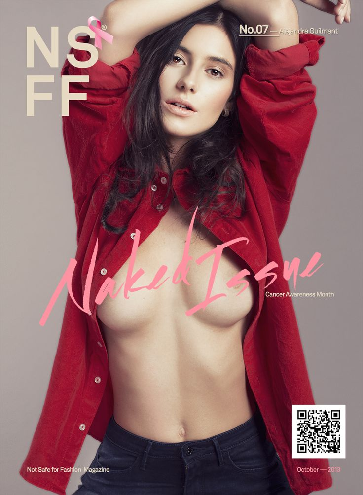 Mexican Models Blog: Alejandra Guilmant on the cover of Not Safe for Fashion