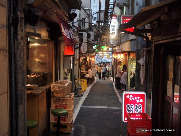 B-Kyu: Tokyo Tour Day 2 ~ High Romance in Piss Alley