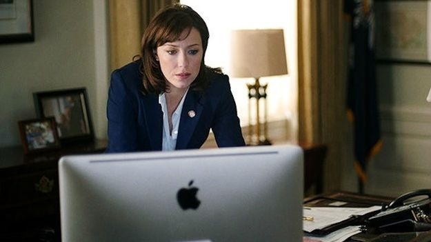 Jackie Sharp. Played by: Molly Parker. What she does: House majority whip. Jackie Sharp spends a lot of time insisting that she isn't Frank Underwood. And that's true, but it doesn't mean she won't go to extreme lengths to get her way. That was clear from the beginning when she destroyed a lifelong friend's reputation to become whip. She's one of the strongest, most uncompromising characters on the show, and her desire to do it all without becoming Frank makes her fascinating.