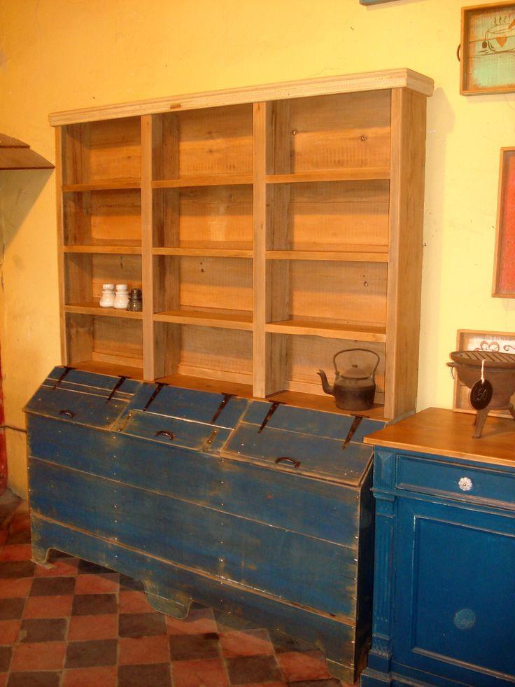Antiguo mueble de almacen  Ideas para el hogar  Pinterest
