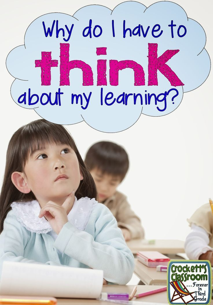 Why Do I Have to Think About My Learning? | Help your students assess their learning.