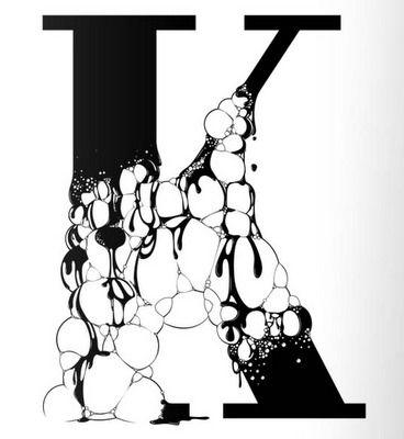 20가지 디자인 영감을 주는 Black & White 타이포그라피 - 열정 야매자료실