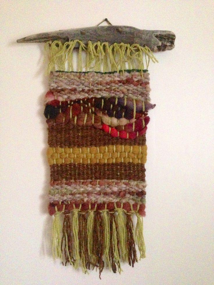 Telar de Muro / Weaving!