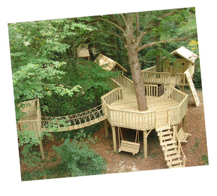 This would be so cool to have! I think the boys would never leave the backyard! now to convince T to build it!