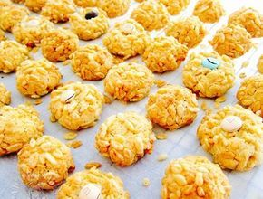 rice bubble horlicks cookies ~ highly recommended 卜卜米好力克曲奇~强推