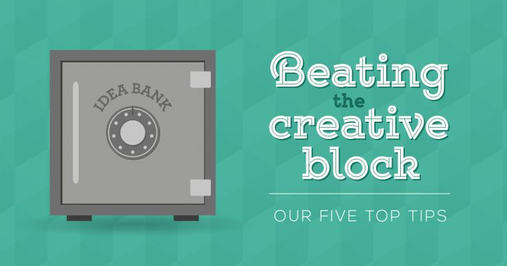 Beating The Creative Block: Our 5 Tips  http://jbh.co.uk/blog/Beating-The-Creative-Block