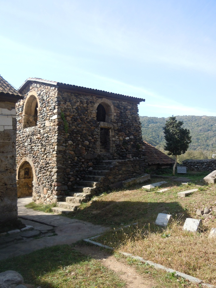 St. George's Church and Monastery complex in the village of Ubisa_1