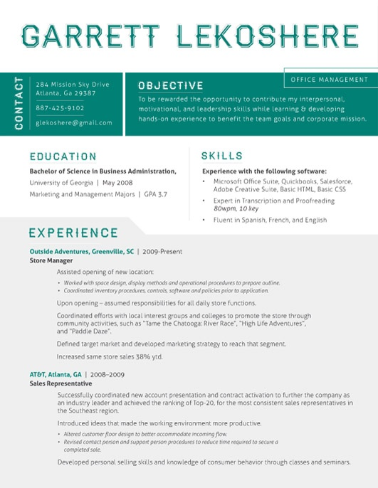 52 best contemporary resumes images on pinterest resume design