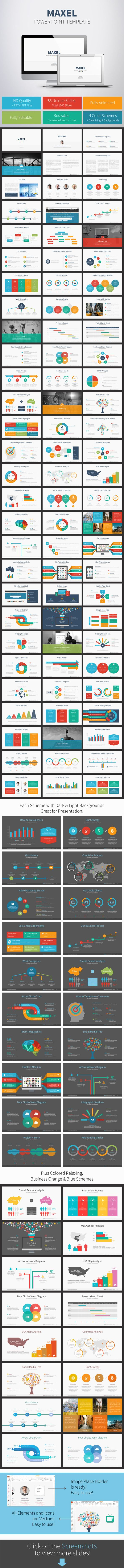 Maxel Powerpoint Template (Powerpoint Templates)
