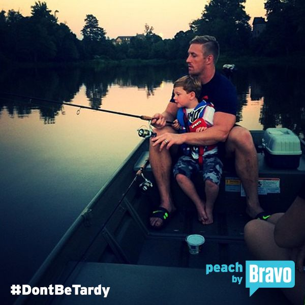 Don't Be Tardy Kroy Biermann being the good Dad that he is  <3