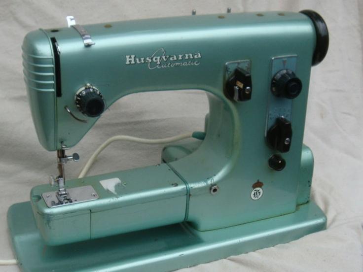 Vintage husqvarna sewing machine