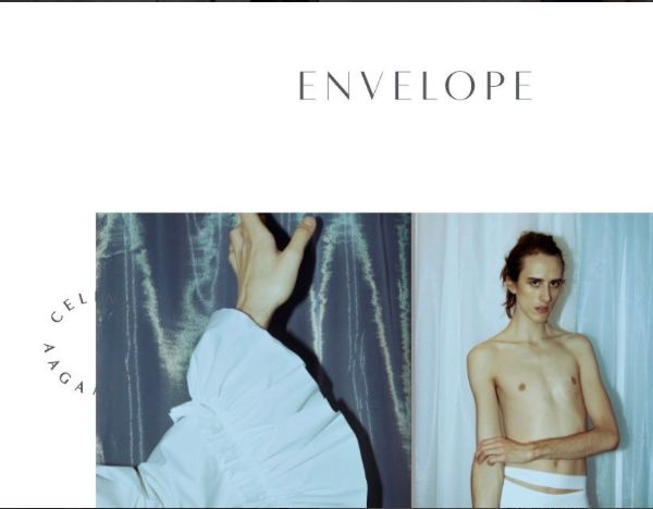 Interview by Celine Aagaard for Envelope Magazine