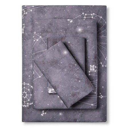 Star Wars® Constellations Sheet Set Full - Grey - 4 Piece : Target