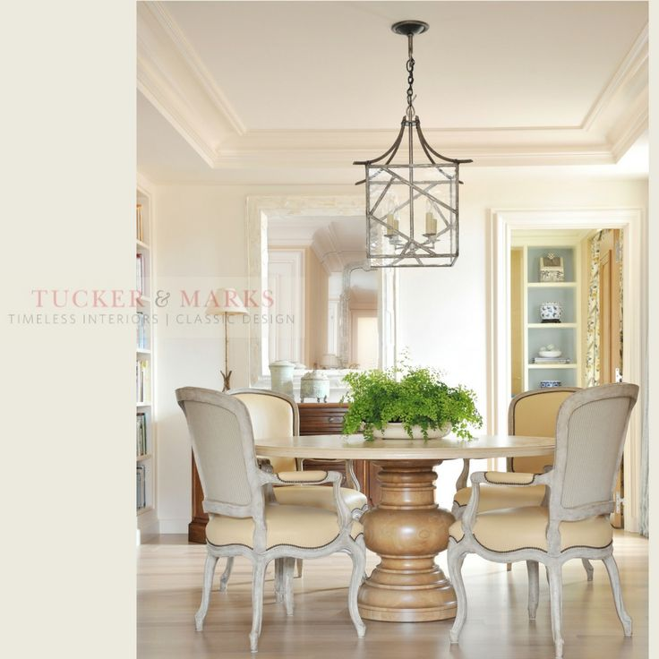 an elegant light filled dining room design by suzanne tucker of tucker and marks - Tucker Dining Room Set