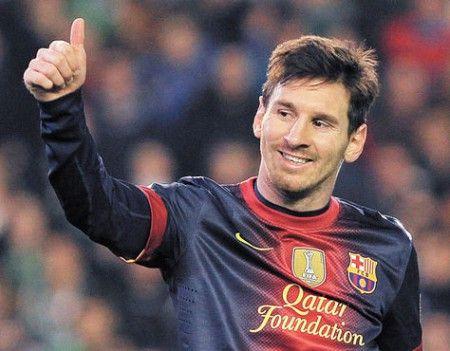 Filman documental sobre la vida de Messi.