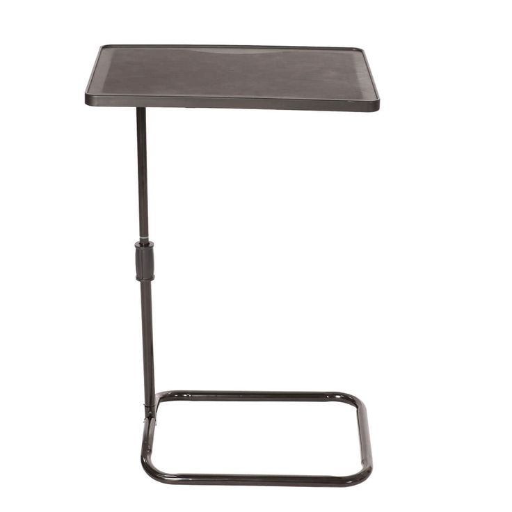 Handy Swiveling Table Is Multi Purpose: Use It As A Freestanding Table  Beside Your
