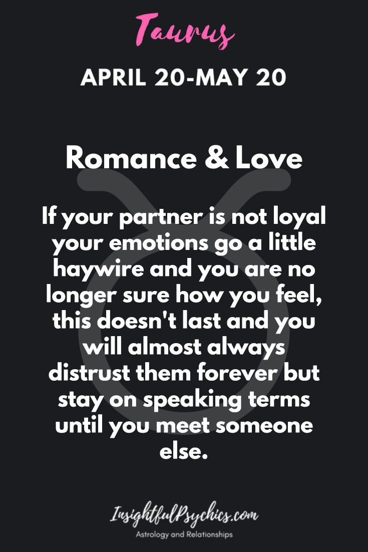 How is taurus in love and in relationships taurus