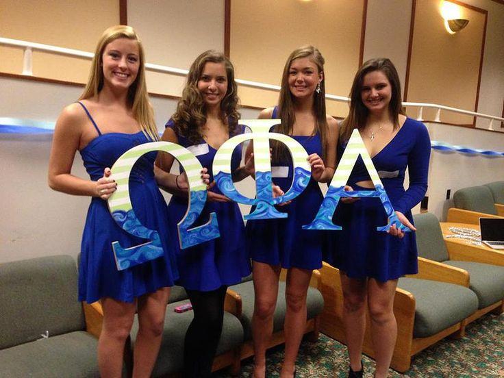 Omega Phi Alpha- Alpha Theta Chapter at Penn State