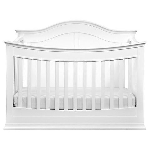 davinci meadow 4in1 convertible crib with toddler rail white - White Baby Crib