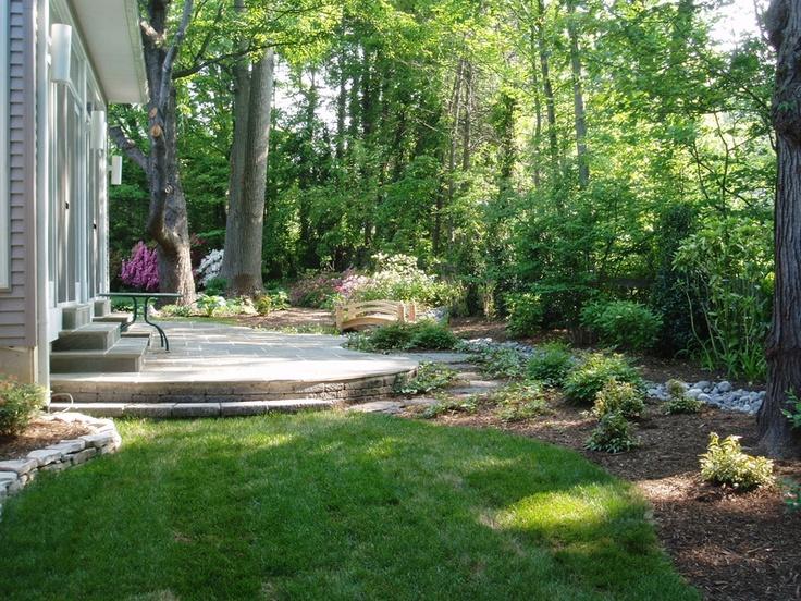 Shade Garden Design For Back Yard Backyard Ideas