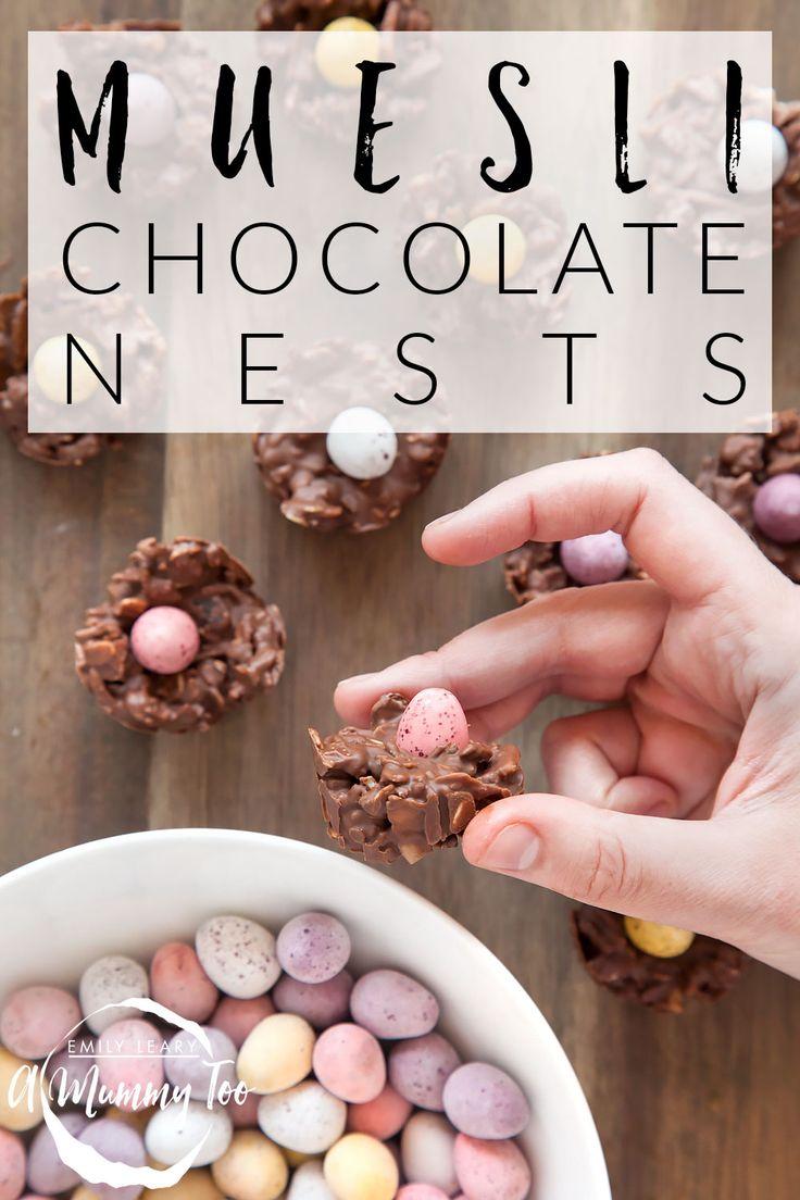 Muesli-chocolate-nests-titled