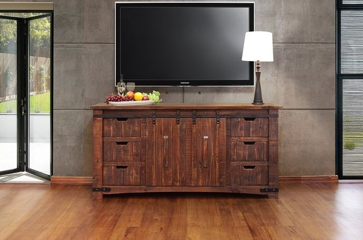 Granville Sliding Door 70 inch TV Stand