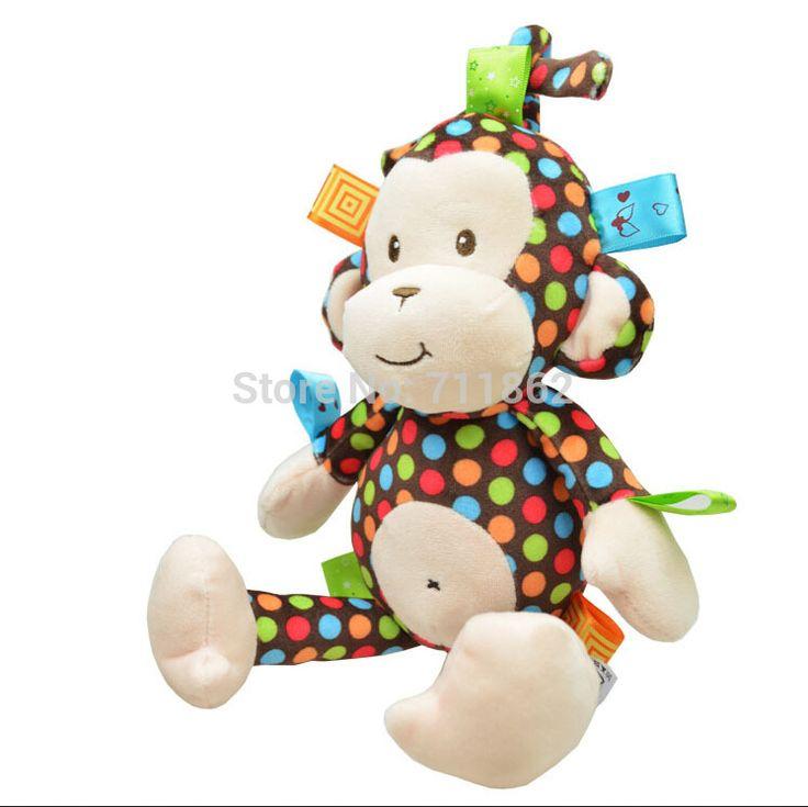 $8.01 (Buy here: https://alitems.com/g/1e8d114494ebda23ff8b16525dc3e8/?i=5&ulp=https%3A%2F%2Fwww.aliexpress.com%2Fitem%2F32CM-Monkey-Soft-plush-toy-baby-Stroller-bed-handing-bell-toy%2F32270570797.html ) sozzy 32CM  Monkey Soft plush toy baby Stroller /bed handing bell toy for just $8.01