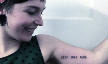 How 'Self Love Club' Tattoos Are Reminding Women To Be Kinder To Themselves