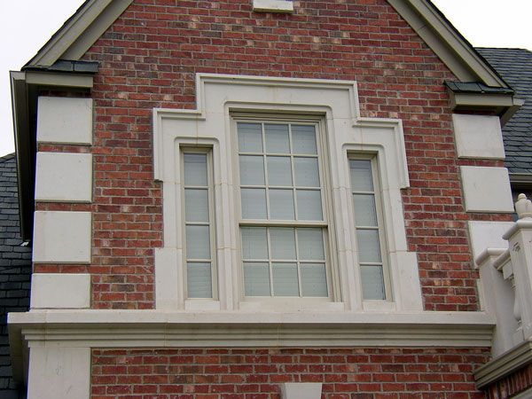 Palladium Stone Around Window : Best cast stone accent banding images on pinterest