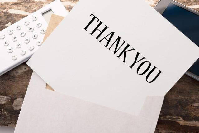 Thank You Letter for Administrative Position Interview