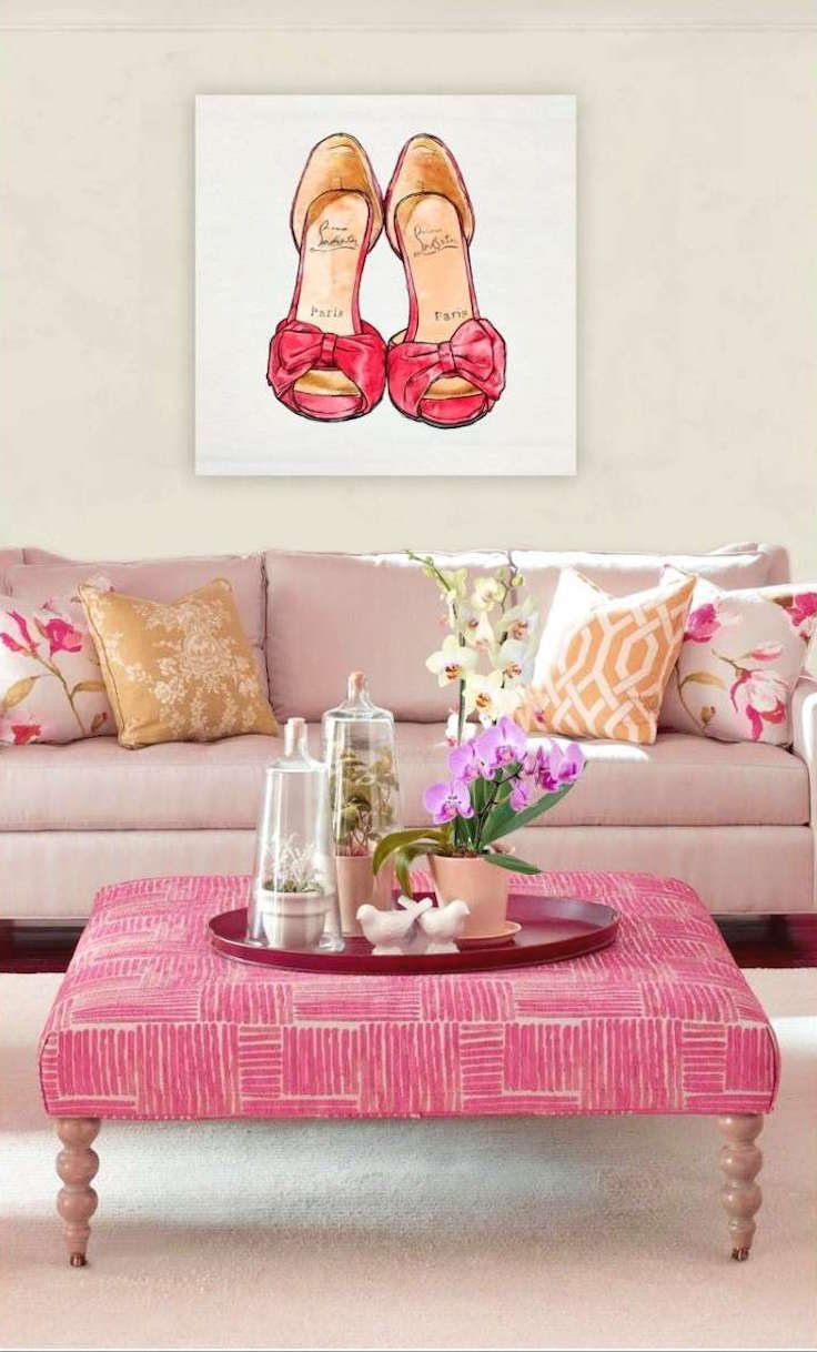 1233 best pink paint and interiors images on pinterest | pink