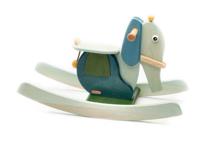 Schaukelpferde - Schaukeltier Elefant Pauline - ein Designerstück von tedefamily bei DaWanda