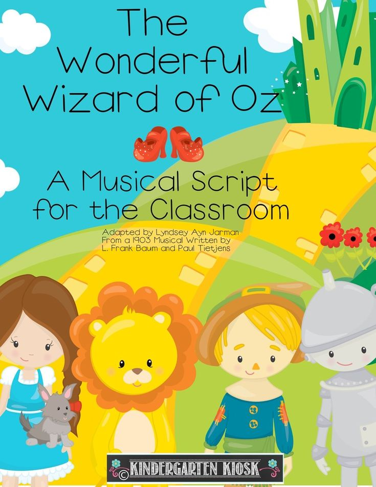 The Wizard of Oz Musical Script