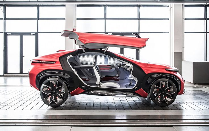 Chery Electric Concept Suv With Gullwing Doors Insidehook